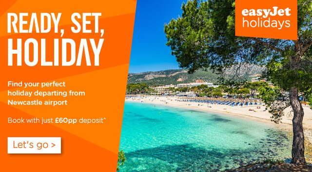 easyJet Holidays - Low Deposits